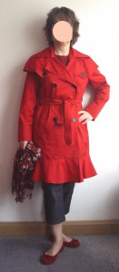 roter Trench