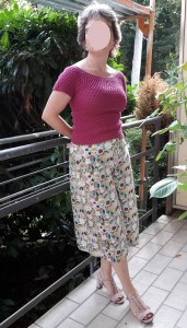 Lagon Sweater mit Culotte